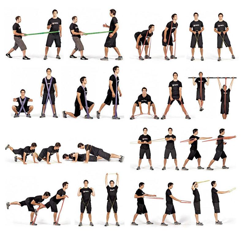 Bandes Elastiques D Exercice